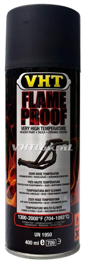 VHT GSP102 mat zwarte uitlaat lak flat black flameproof