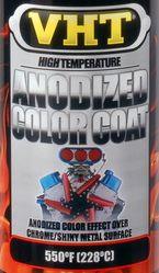 Anodiseer effect verf -Anodized color coat